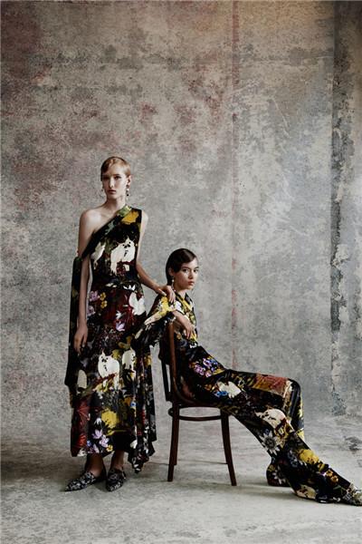 Erdem(艾尔丹姆)服装品牌释出2018早春度假系列