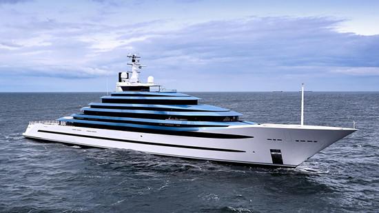 Oceanco船厂最新110米Jubile游艇进入海试阶段