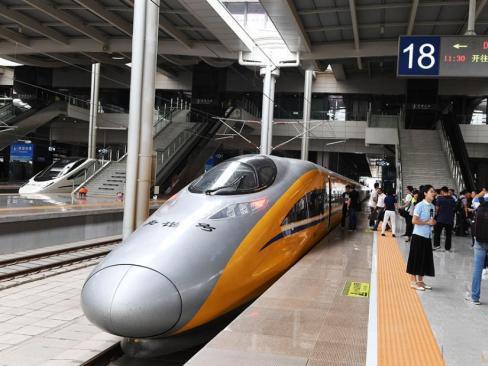 """中国高铁网络扩容 成为""""一带一路""""合作项目的领头羊"""