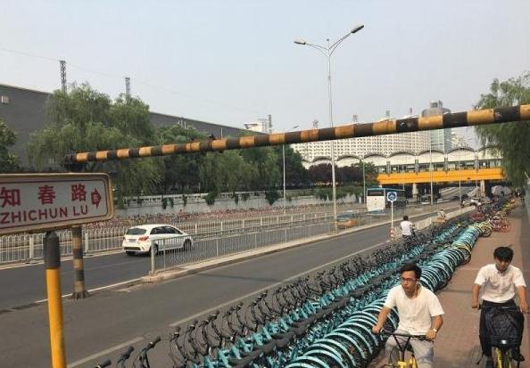 北京现300米共享单车带 留给创业者的颜色真不多了