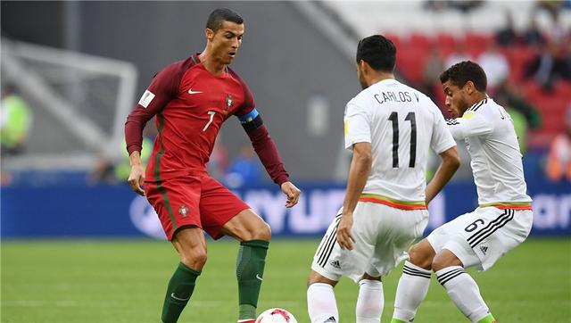 联合会杯-葡萄牙在喀山竞技场2-2战平墨西哥