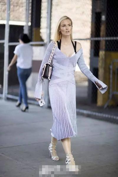 欧美穿衣搭配技巧示范 看似漫不经心才是最美