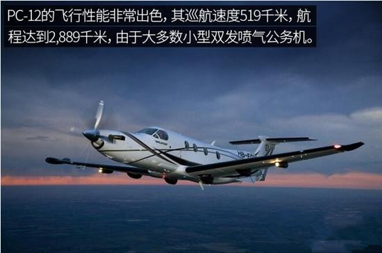 皮拉图斯PC-12:具有短距起降能力的多功能私人飞机