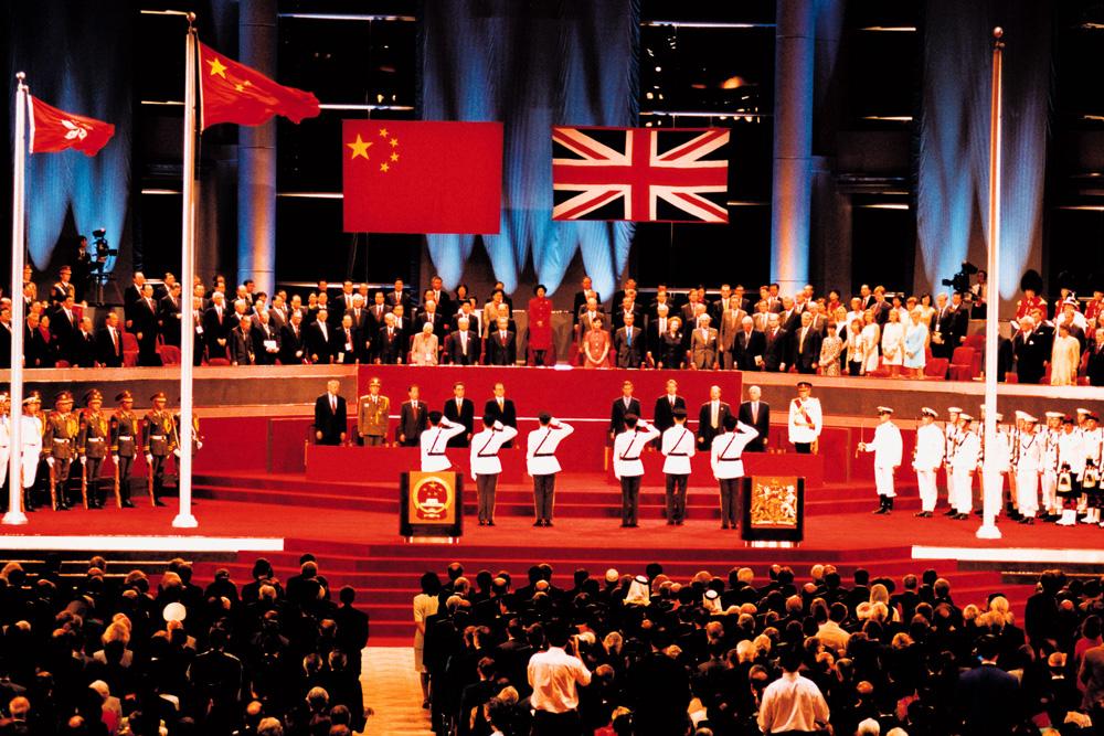 """三轮谈判 邮票印""""中国香港""""实属不易"""