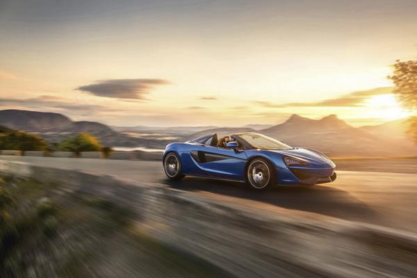 迈凯轮全新570S Spider车型将于Goodwood发布亮相