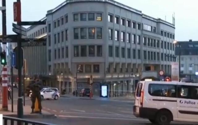 比利时火车站爆炸 警方表示目前局势已经得到控制