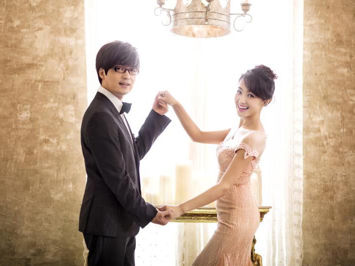 玖月奇迹浪漫婚纱照曝光 两人相互凝望眼神中满满都是爱意