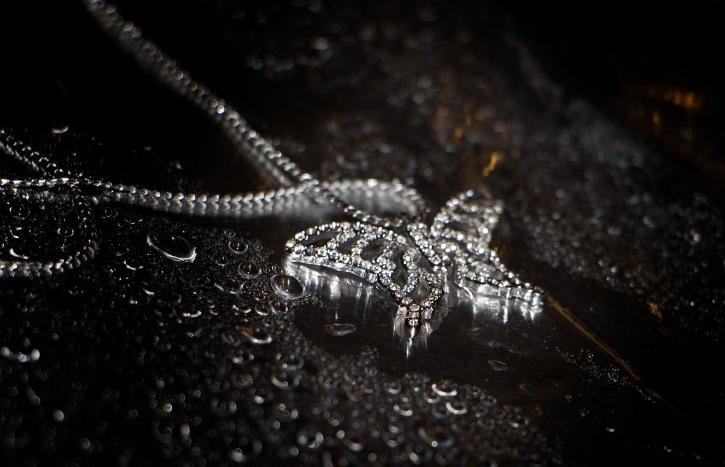 为什么女人都爱银项链?