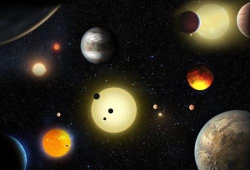 发现十个类地行星 NASA称表面发现有液态水迹象