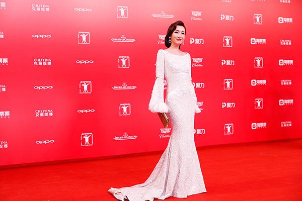 众女星佩戴Boucheron珠宝配饰闪耀上海电影节开幕红毯