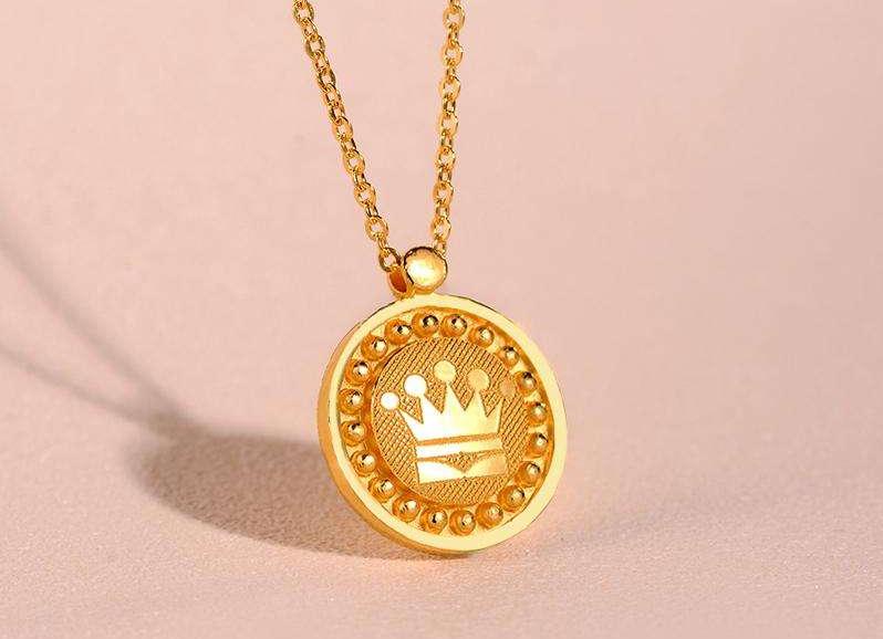适合结婚佩戴的黄金首饰