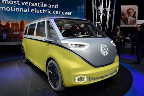 大众名车品牌I.D. Buzz概念车将量产 定位纯电动MPV