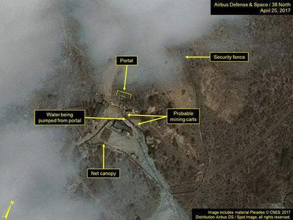 朝核试验最新消息:朝核试场再现活动 进行第六次核试验?