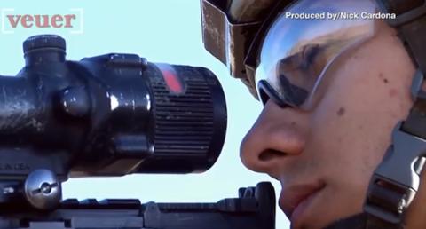 加拿大狙击手3450米外射杀IS分子 这是一项新的世界纪录