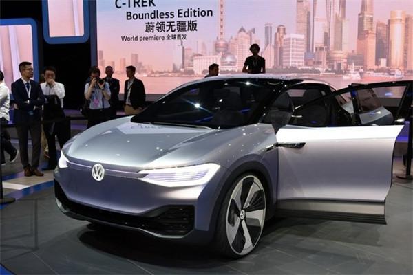 大众名车品牌I.D电动车家族曝光 将推5款全新车型