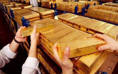 黄金期价连续两个交易日上涨