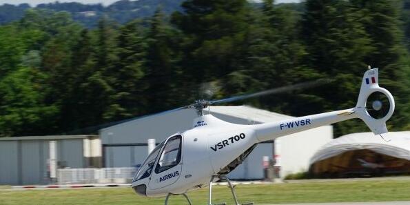 空客开启VSR700私人直升机试验机自主飞行试验