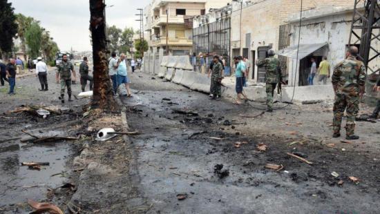 """俄军方称向叙境内发射导弹 """"伊斯兰国""""设施残留被消灭"""