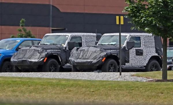 Jeep名车品牌全新牧马人双门硬顶版/软顶版谍照曝光