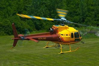 小松鼠AS350 B2:以高性能可靠性闻名的私人直升机