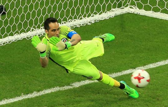联合会杯布拉沃连扑3点球 智利3-0葡萄牙进决赛