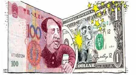 """七连跌后人民币汇率打响""""翻身仗"""""""