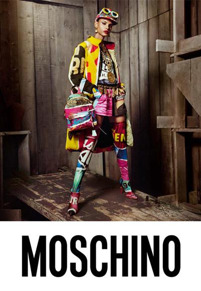 Moschino(莫斯奇诺)释出2017秋冬系列广告大片