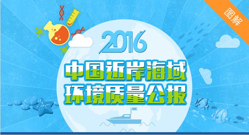 《2016中国近岸海域环境质量公报》图解