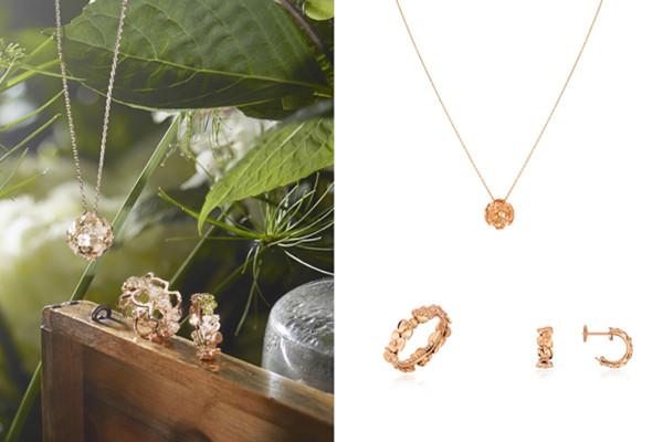 CHAUMET绣球花系列珠宝 爱存心中无需加冕
