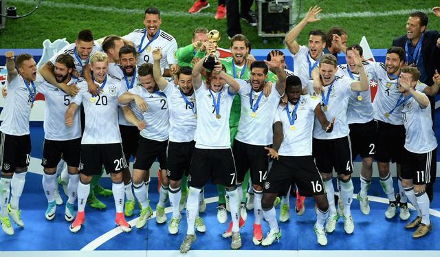 联合会杯决赛-德国1比0击败智利再度拿下联合会杯冠军