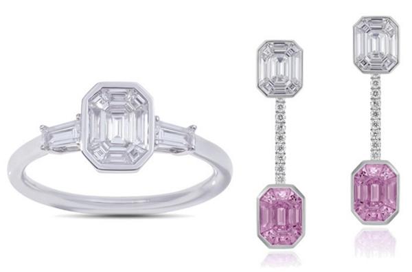 德国珠宝品牌Stenzhorn新作 以隐秘镶嵌工艺强化宝石存在感