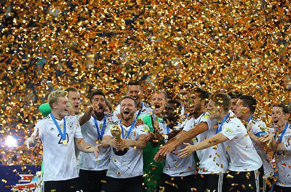 德国队首夺联合会杯 他们下一个对手是自己