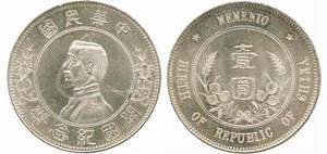 孙中山开国纪念银元的版别种类该以什么差别区分?