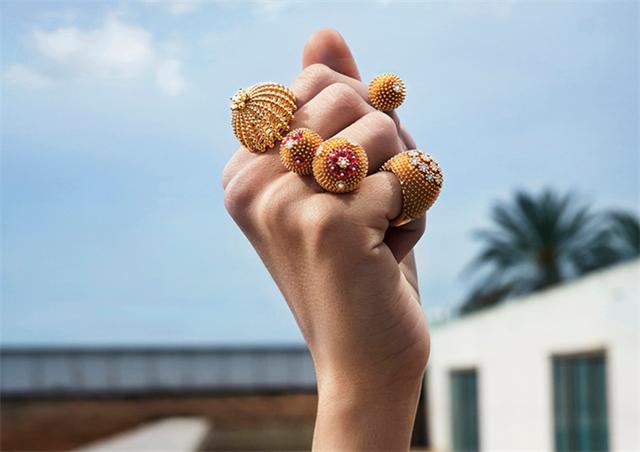 """卡地亚珠宝Cactus de Cartier系列 突破传统绽放至""""针""""魅力"""