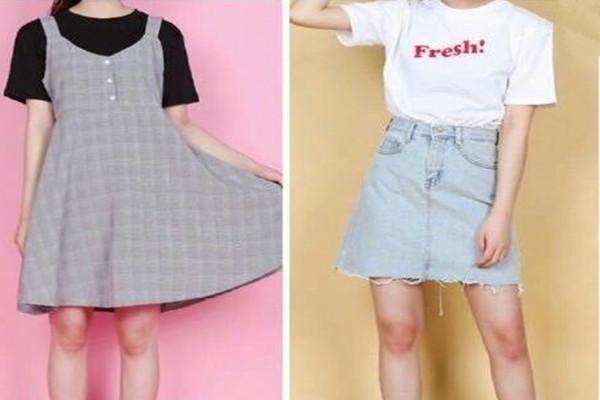 青春活力学生装 夏日你必不可少穿衣搭配单品