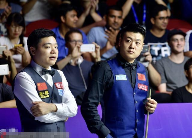 丁俊晖梁文博夺冠 自2011年以后再次夺得世界杯冠军