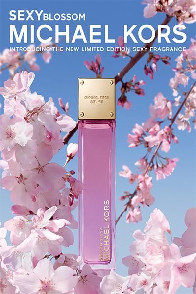 Michael Kors推出全新限量Sexy Blossom淡香水