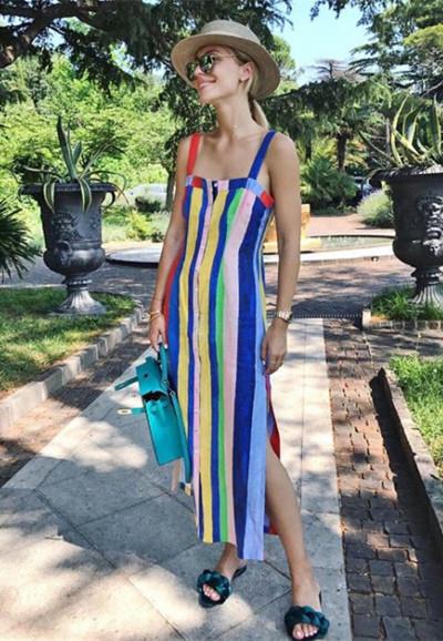 时尚博主街拍造型示范 三个造型让你美丽一整夏