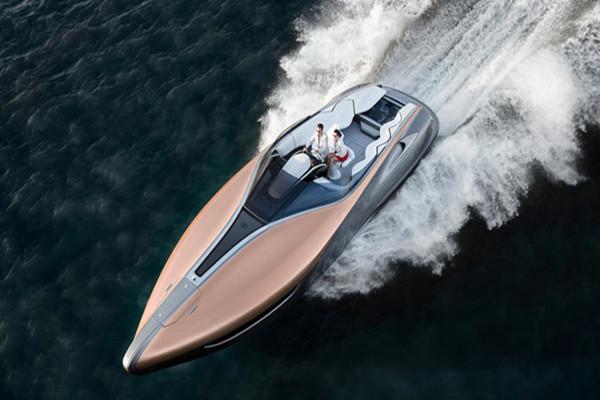 雷克萨斯发布全新Sport Yacht Concept概念游艇