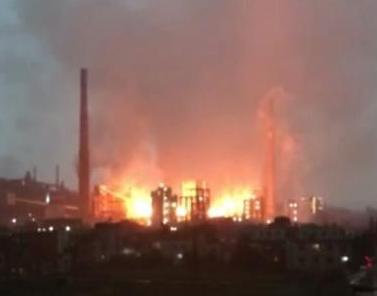 """云南省焦化厂煤气泄漏导致发生爆炸? 官方:这是""""人为""""不碍事"""