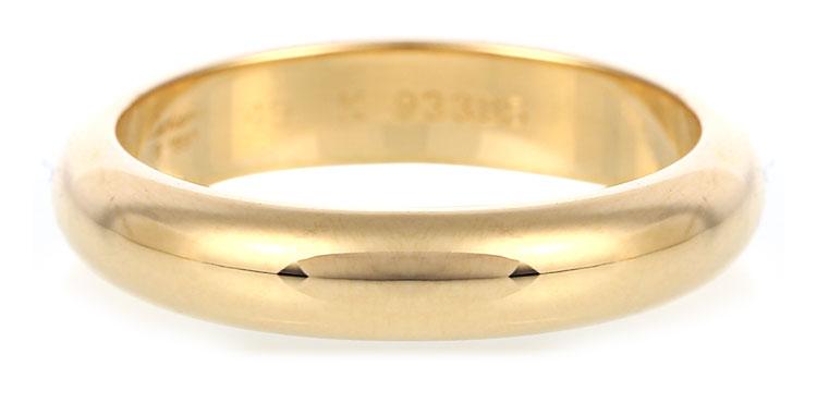 光板黄金戒指