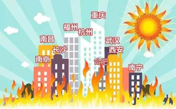 热浪席卷中国城市