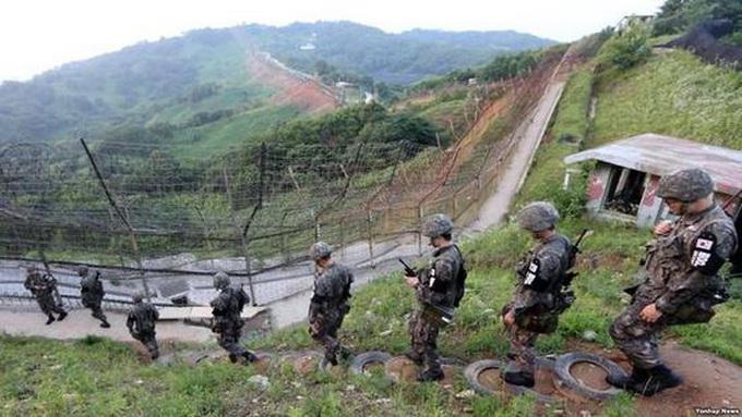 韩向朝提议会谈 望朝方重启被切断的西海地区军事热线