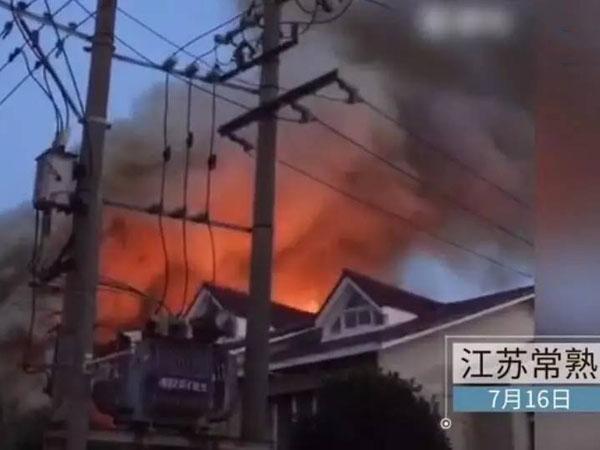 江苏常熟发生民房火灾 致22人死亡3人受伤