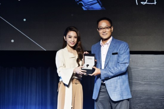 """田馥甄现身Black Watch Party为西铁城""""小黑表""""首发站台"""