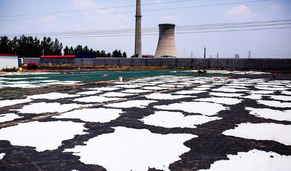 皮革生产地无极县污染严重