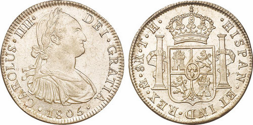 """西班牙""""双柱""""银元 曾经的强大辉煌"""