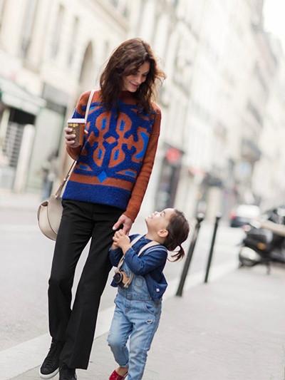 时装精教你穿衣搭配造型 和宝宝一起时髦才是真时髦