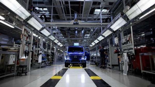 奔驰第30万辆G级于麦格纳斯太尔工厂正式下线