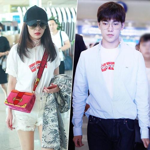 杨洋杨幂撞名有撞衫 同穿时髦白T你更爱谁